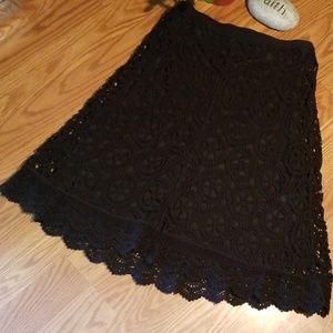 Valerie steven crocheted boho lace sm